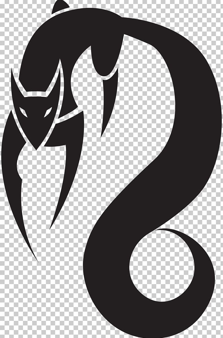 Symbol Fox Logo Black And White PNG, Clipart, Black, Black