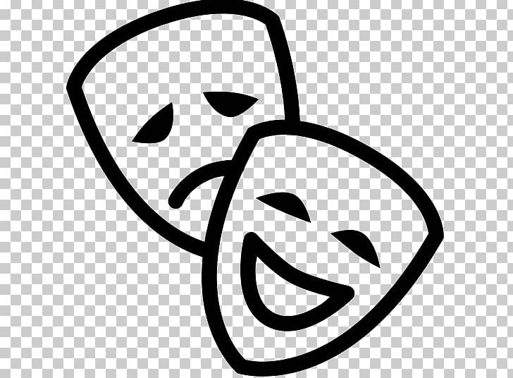 Computer Icons Mask Theatre PNG, Clipart, Art, Black And White, Cinema, Clip Art, Computer Icons Free PNG Download