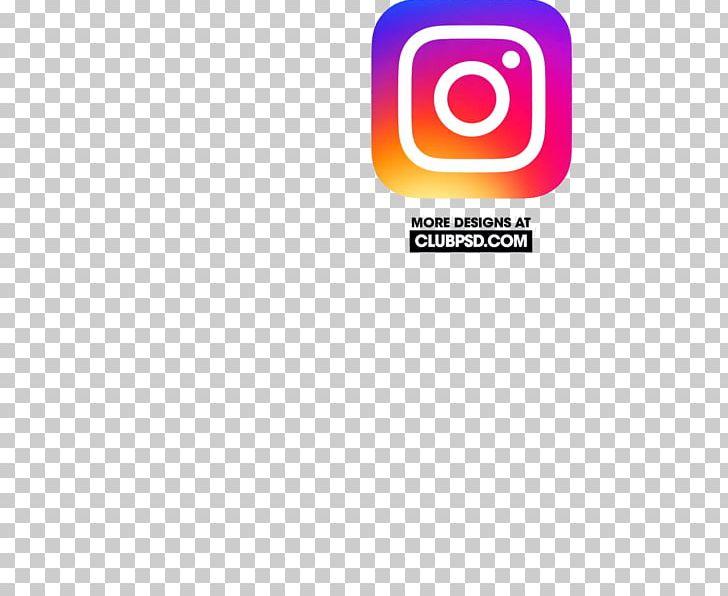 Instagram graphic. Logo graphics brand psd