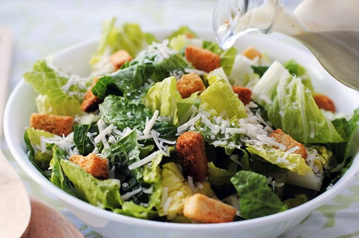 Caesar Salad Chef Salad Restaurant Romaine Lettuce Png