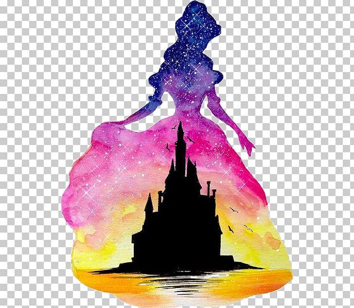 Aurora Belle Ariel Disney Princess Watercolor Painting PNG ...