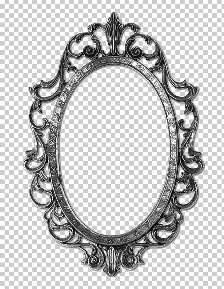 Frames Framing Glass Mirror Frame, Black And White Mirror Clipart