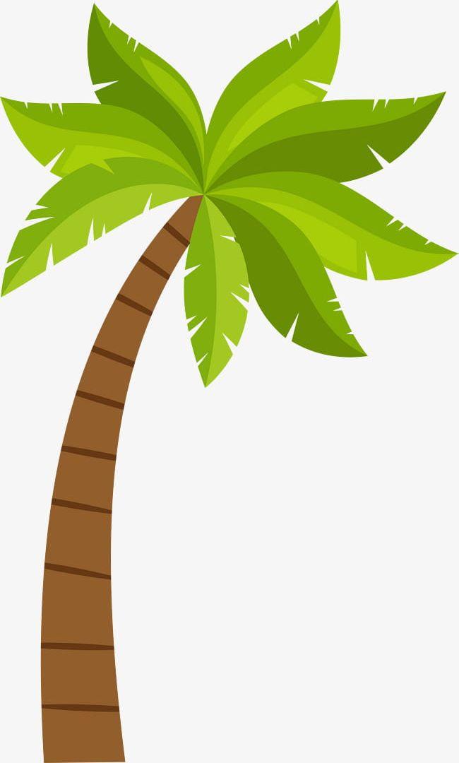 Cartoon Coconut Tree Pattern PNG, Clipart, Cartoon Clipart ...