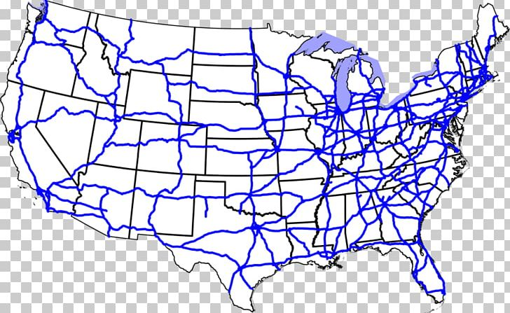 Us Interstate Highway System Interstate 70 Road Interstate 40 Map - Us-highway-40-map