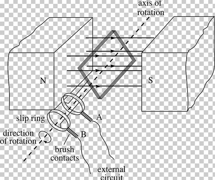 Wiring Diagram Electric Motor Electromagnetism Alternating ... on