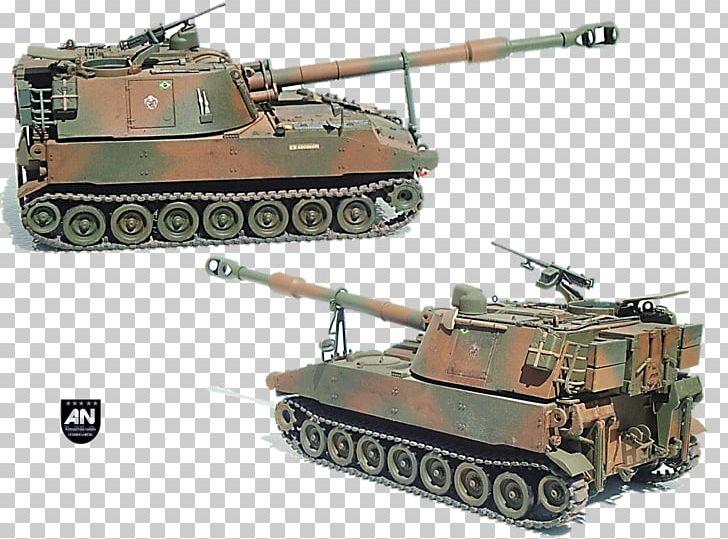 M109 Howitzer Self-propelled Artillery Churchill Tank M108