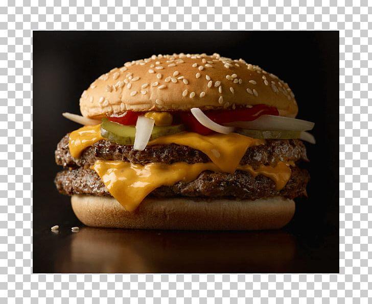 McDonald's Quarter Pounder Cheeseburger Hamburger McDonald's Big Mac Fast Food PNG, Clipart, American Food, Bacon, Breakfast Sandwich, Buffalo Burger, Calorie Free PNG Download