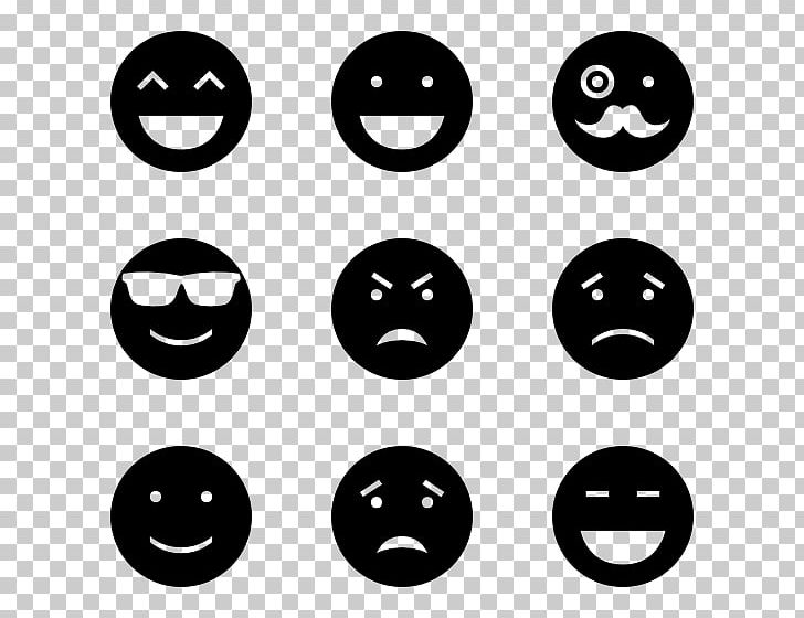 Emoticon Smiley Computer Icons Emoji PNG, Clipart, Black, Black And White, Circle, Computer Icons, Emoji Free PNG Download