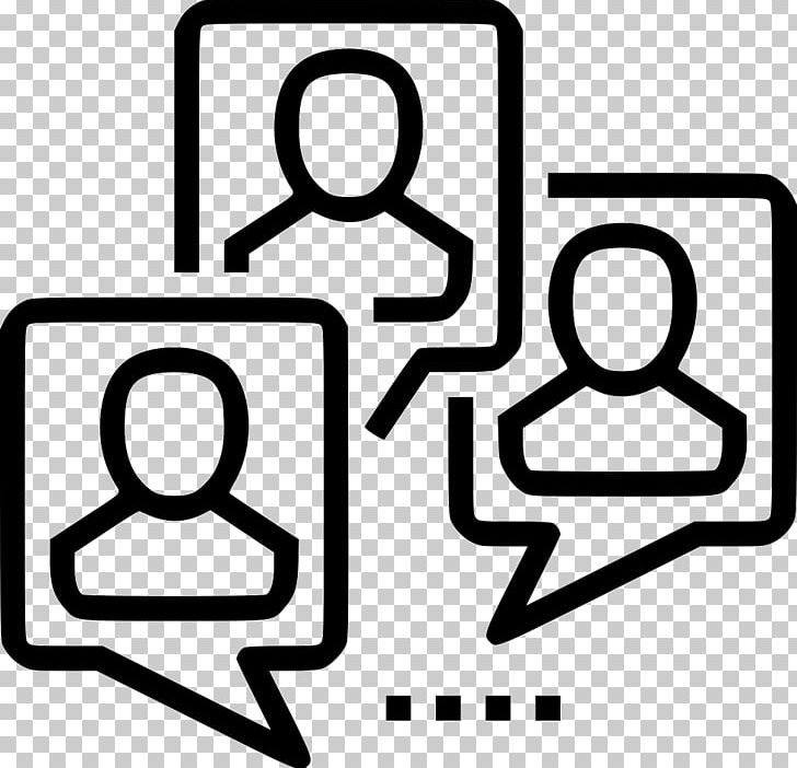 Computer Icons Focus Group Online Chat Business PNG, Clipart, Area, Black And White, Business, Computer Icons, Conversation Free PNG Download