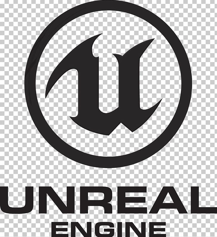 Unreal Engine 4 Game Engine Logo Computer Software PNG, Clipart, 3d Modeling, Area, Black And White, Brand, Computer Software Free PNG Download