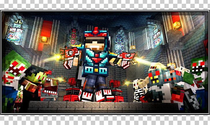 Pixel Gun 3D (Pocket Edition) Survival Arena Video Game PNG