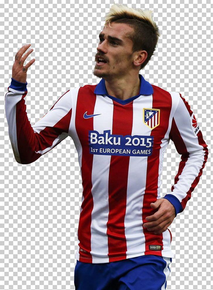 Antoine Griezmann Atlético Madrid Football Jersey Uefa Euro