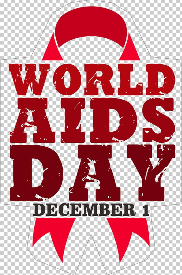 World AIDS Day Red Ribbon PNG, Clipart, Aids, Area, Brand, December 1, Disease Free PNG Download