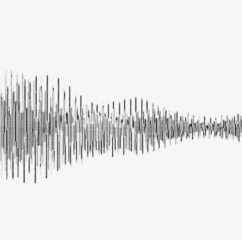 Strip Sound Waves PNG, Clipart, Black, Black And White