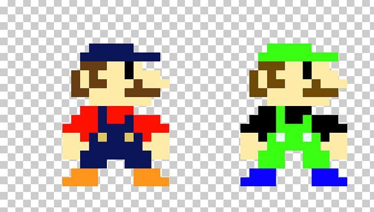 Super Mario Bros  Luigi Pixel Art PNG, Clipart, Bit, Gaming