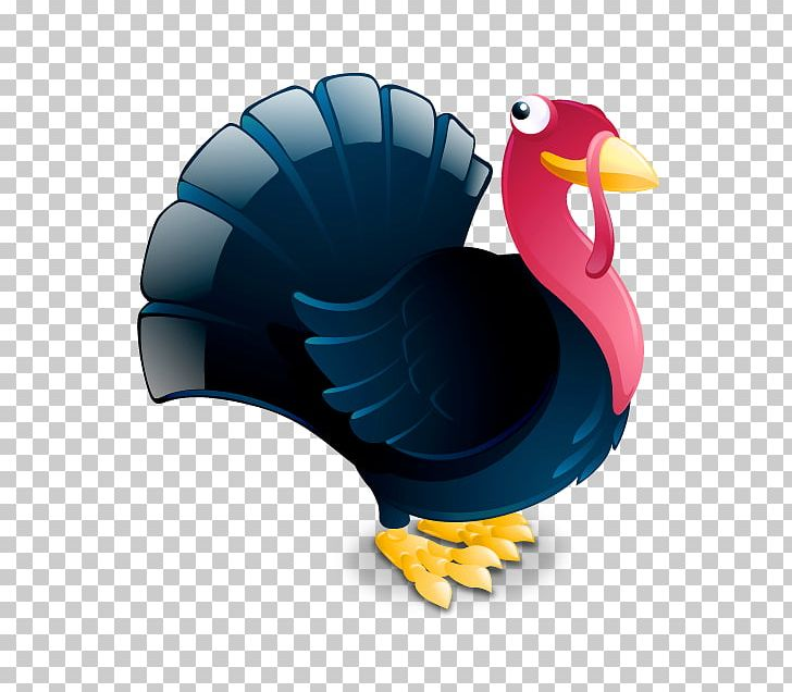 Thanksgiving Turkey Computer Icons Turkey Meat PNG, Clipart, Beak, Bird, Christmas, Clip Art, Cobalt Blue Free PNG Download