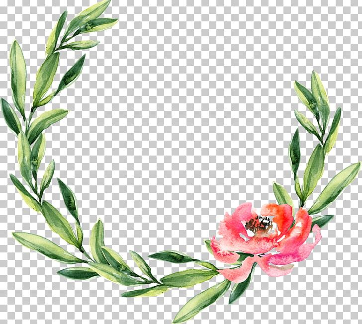 Christmas Cactus Clipart.Wreath Watercolor Painting Wedding Garland Christmas Png