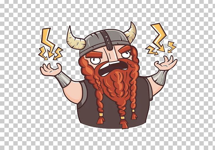Telegram Sticker Viking Advertising PNG, Clipart, Advertising, Android, Art, Cartoon, Drawing Free PNG Download