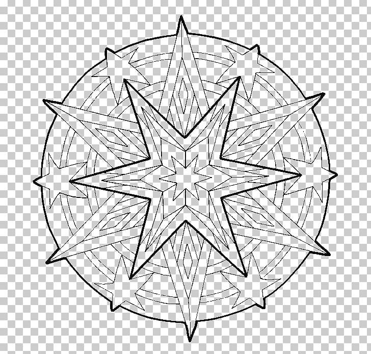 Coloring Book Mandala Christmas Child Adult Png Clipart