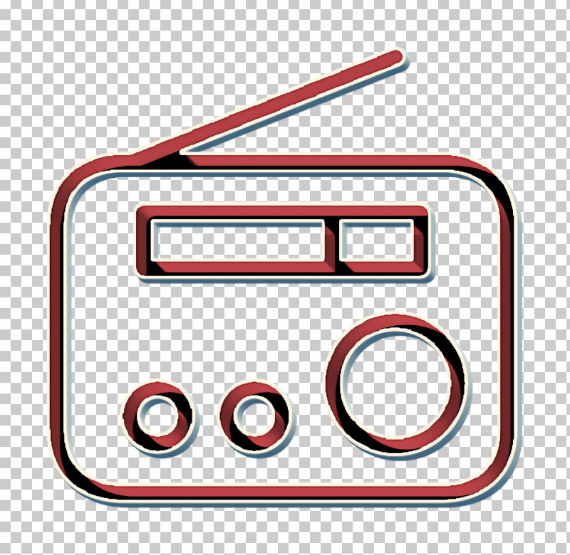 Advertising Icon Radio Icon PNG, Clipart, Advertising Icon, Line, Radio Icon, Rectangle, Symbol Free PNG Download
