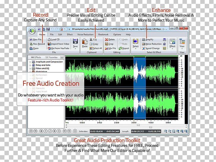 Computer Program Audio Editing Software Sound Editor Free Audio