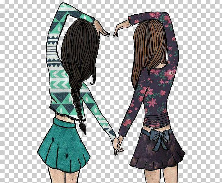 Cool drawings broken friendship. Best friends forever desktop