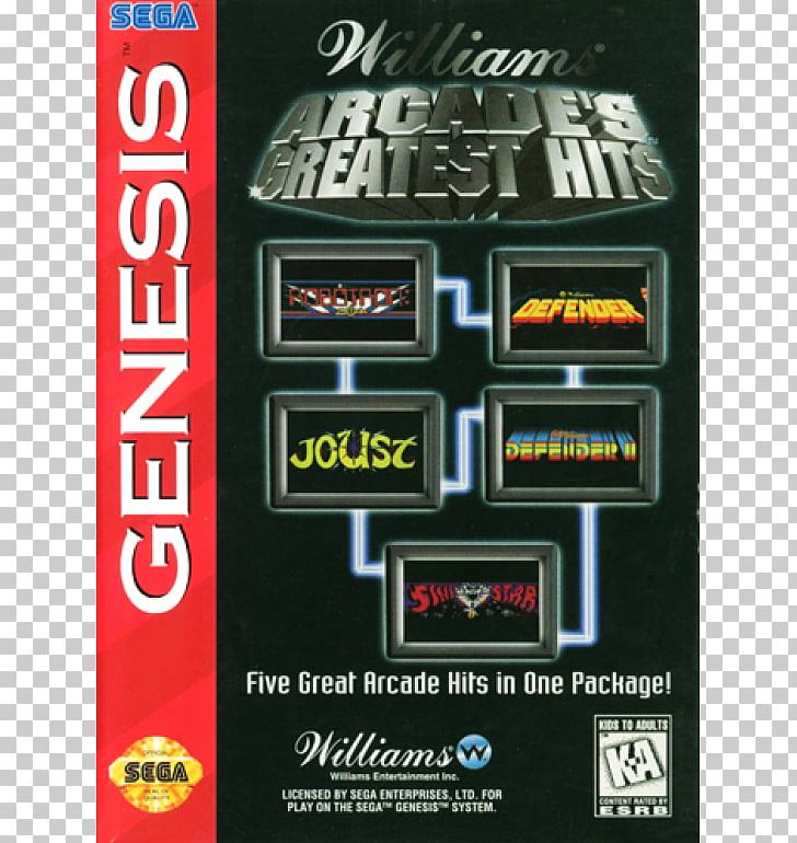 Williams Arcade's Greatest Hits PlayStation 2 Joust Greatest
