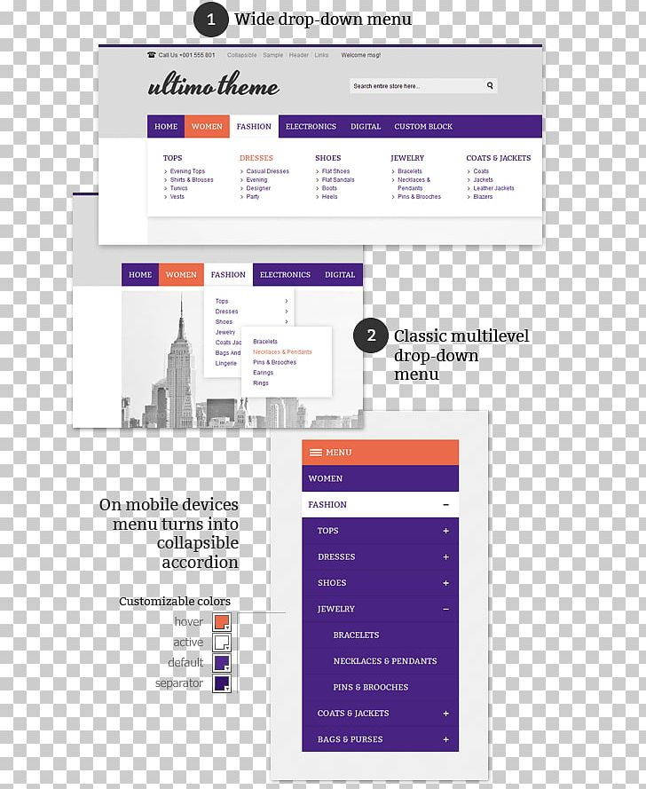 Drop-down List Search Box Menu Magento Responsive Web Design PNG