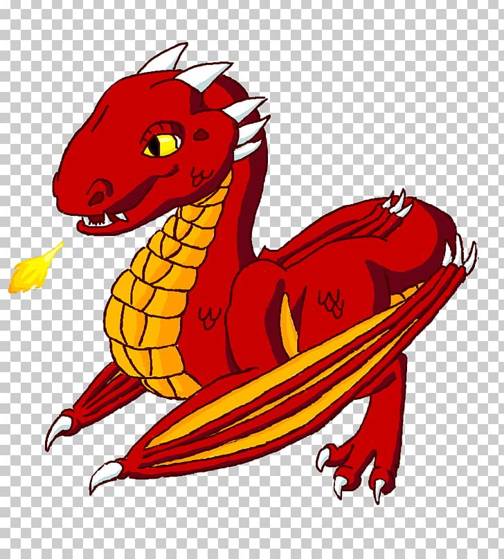 Dragon Wyvern Playing With Fire Salamanders In Folklore Png