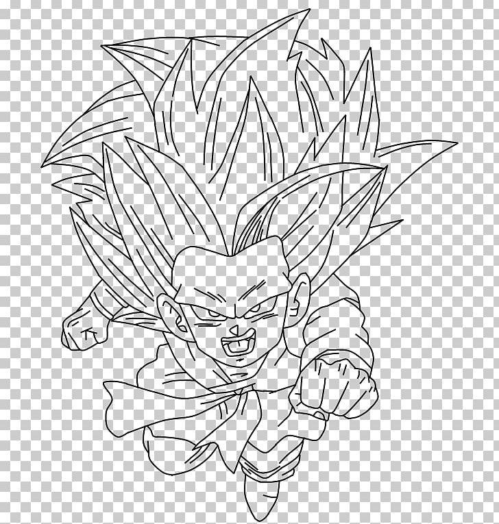 Goku Vegeta Majin Buu Goten Gohan Png Clipart Artwork