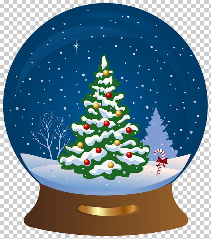 Snow Globe Christmas Tree Santa Claus PNG, Clipart, Christmas, Christmas Clipart, Christmas Decoration, Christmas Elf, Christmas Lights Free PNG Download