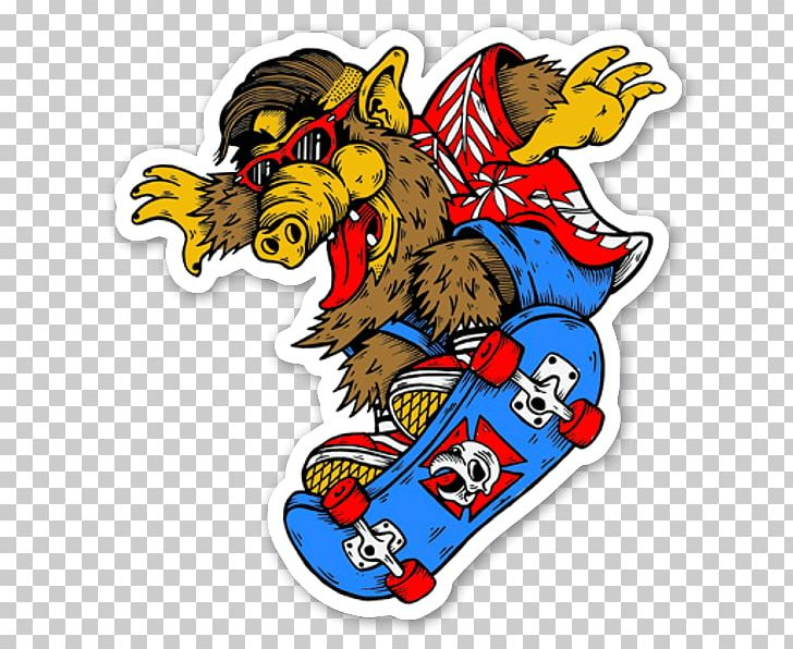 Sticker Skateboarding Decal Thrasher Powell Peralta PNG, Clipart, Brand, Decal, Fictional Character, Funny Car, Longboard Free PNG Download