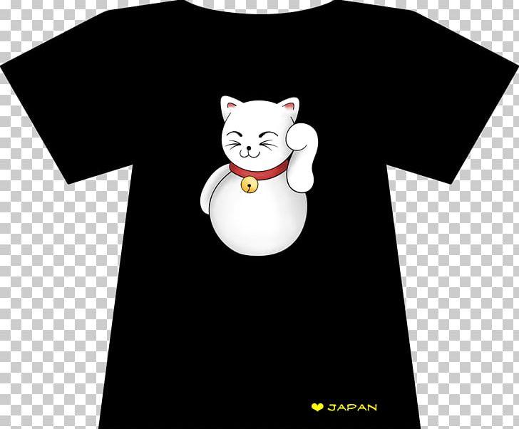 Cat T-shirt Cartoon Desktop PNG, Clipart, Animals, Black, Black And White, Carnivoran, Cartoon Free PNG Download