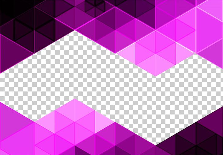 Purple Triangle Mosaic Background PNG, Clipart, Abstract