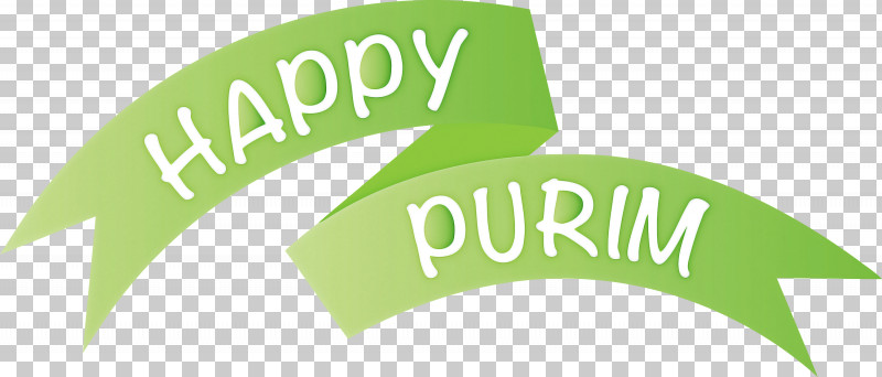Purim Jewish Holiday PNG, Clipart, Green, Holiday, Jewish, Label, Logo Free PNG Download