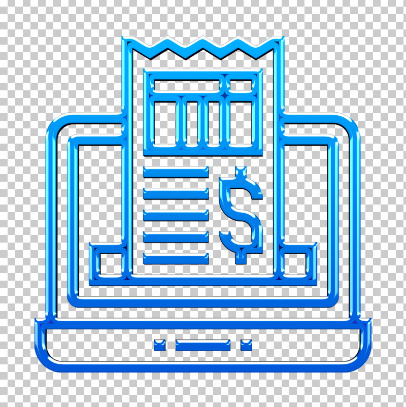 Ticket Icon Receipt Icon Digital Banking Icon PNG, Clipart, Digital Banking Icon, Electric Blue, Line, Receipt Icon, Symbol Free PNG Download