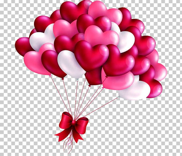 Valentine Love Heart Balloon Valentine S Day Frame Png