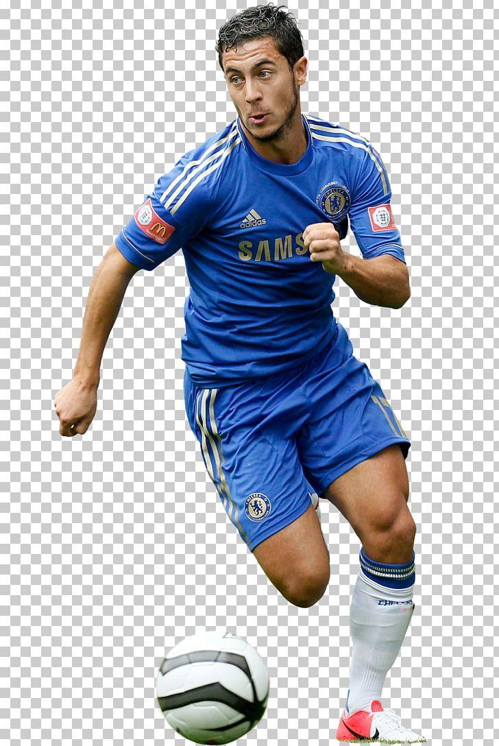 Eden Hazard Chelsea Number 10 Player Silhouette T-Shirt Football CFC London