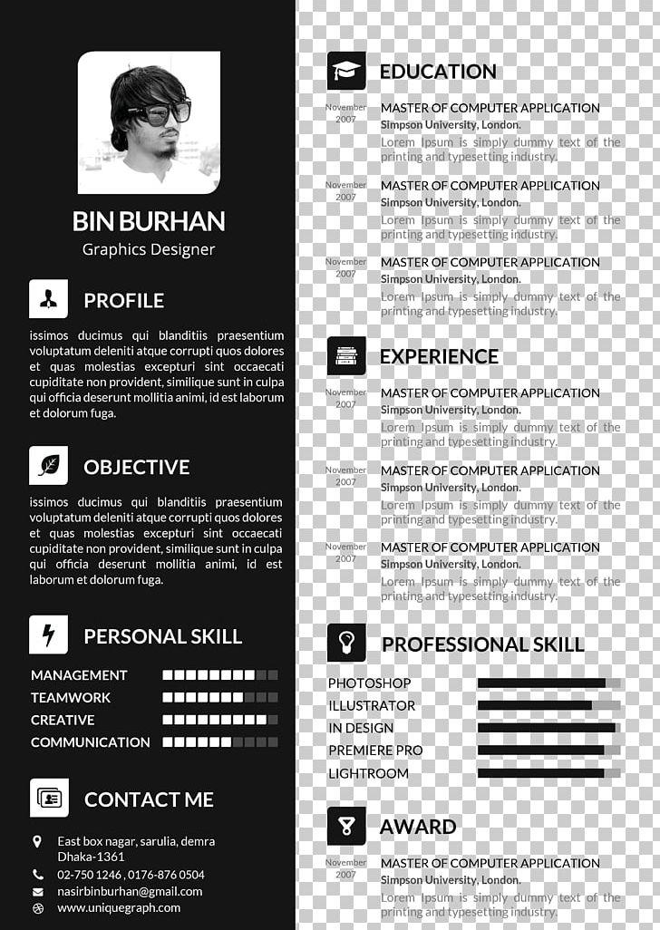 adobe resume template