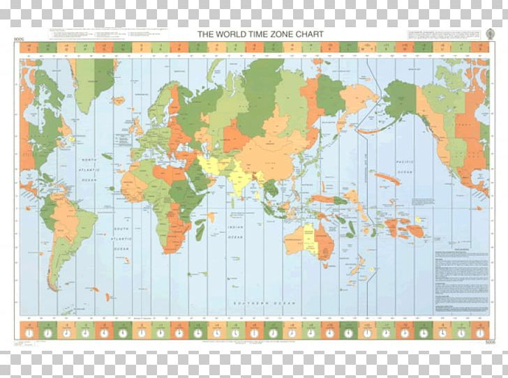 Map World Time Zone Admiralty Chart Nautical Chart PNG