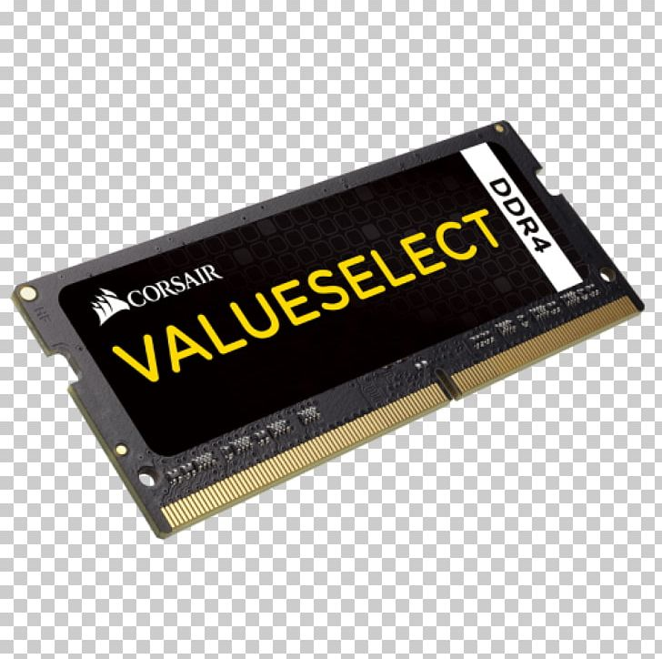 Flash Memory DDR4 SDRAM SO-DIMM Computer Data Storage PNG