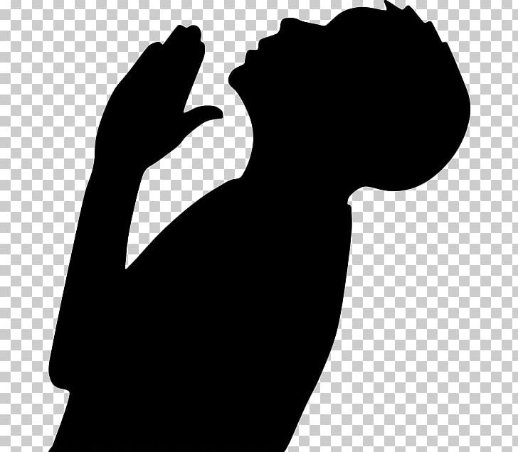 Praying Hands Prayer Silhouette PNG, Clipart, Animals, Arm, Black, Black And White, Clip Art Free PNG Download
