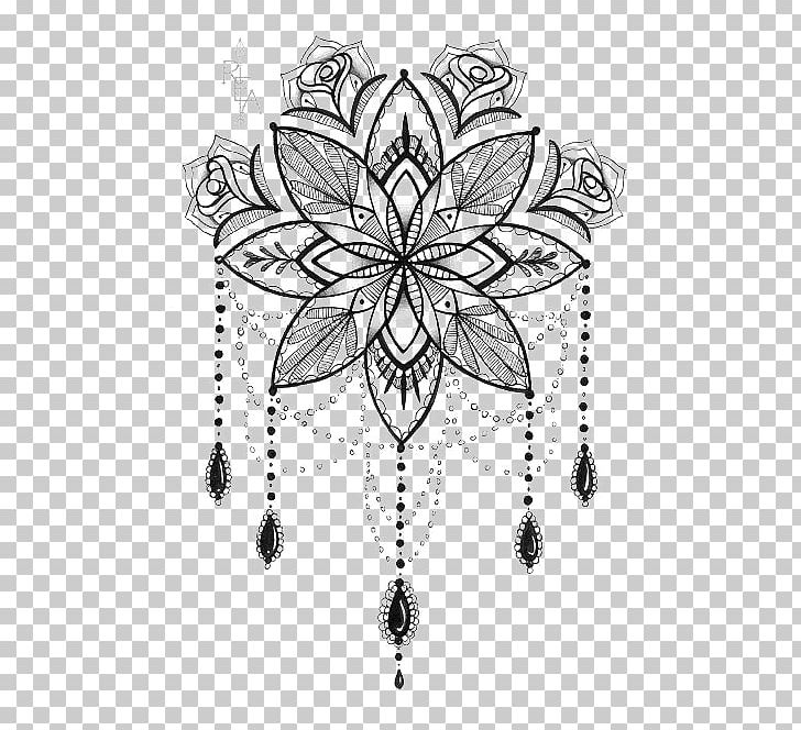 Tattoo Artist Mandala Drawing PNG, Clipart, Animal Print, Art, Black And White, Buckle, Coloring Book Free PNG Download