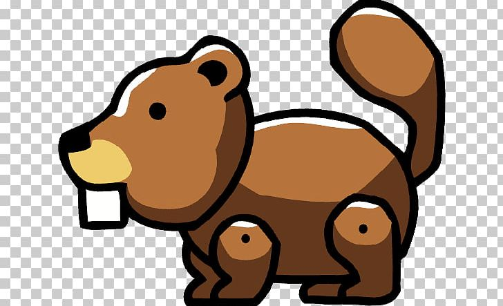 Scribblenauts Remix Scribblenauts Unlimited Beaver Dog PNG