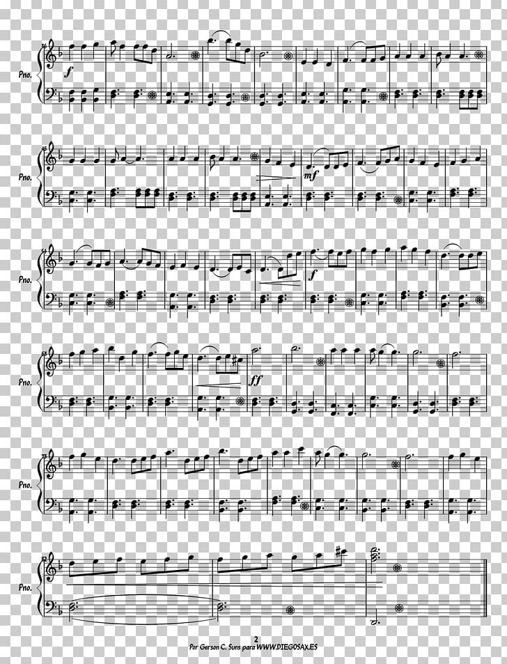 Sheet Music Pirates Of The Caribbean Piano He's A Pirate PNG