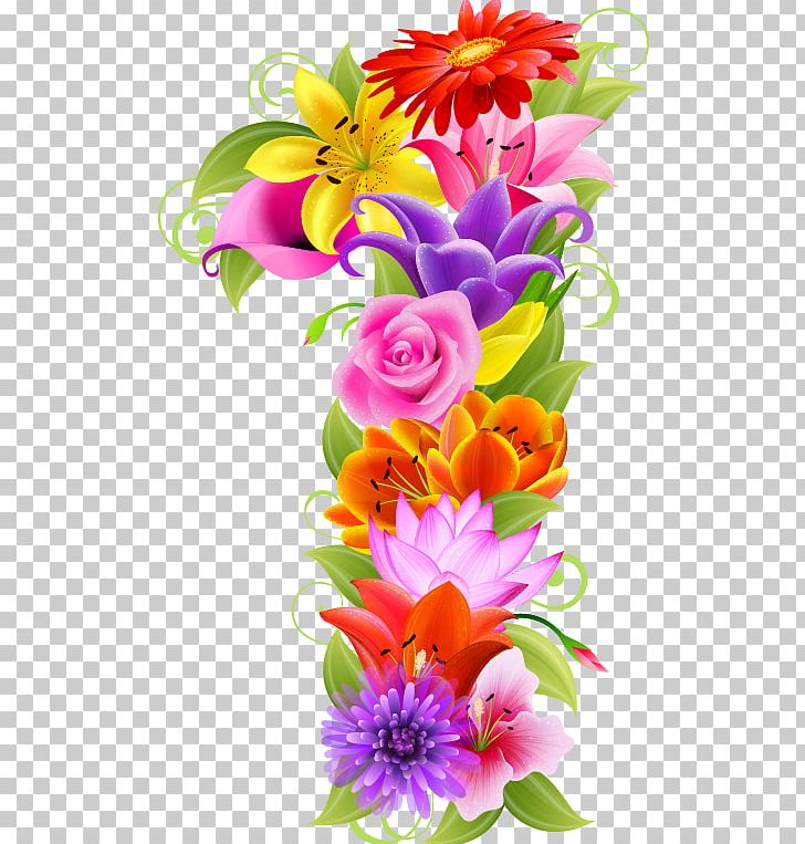 Floral Design Flower Number PNG, Clipart, Art, Birthday, Clip Art, Cut Flowers, Dahlia Free PNG Download