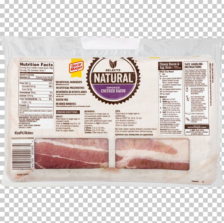 Turkey Bacon Meat Oscar Mayer
