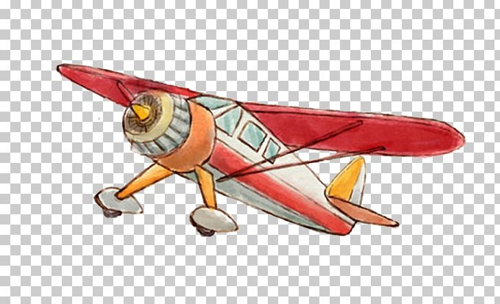 Airplane Watercolor Painting PNG, Clipart, Adobe Illustrator, Aircraft, Airline Ticket, Biplane, Child Free PNG Download