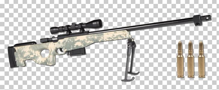 Assault Rifle Accuracy International AWM Sniper Rifle Weapon PNG