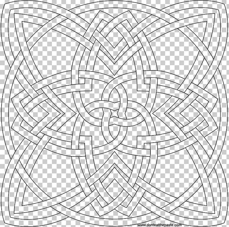 Inspiration Of Grace: Adult Coloring Book Celtic Knot Mandala PNG ...